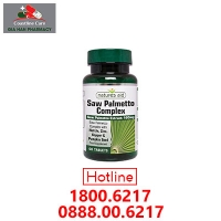 Natures Aid Saw Palmetto Complex - Hỗ Trợ Sức Khỏe Tuyến Tiền Liệt